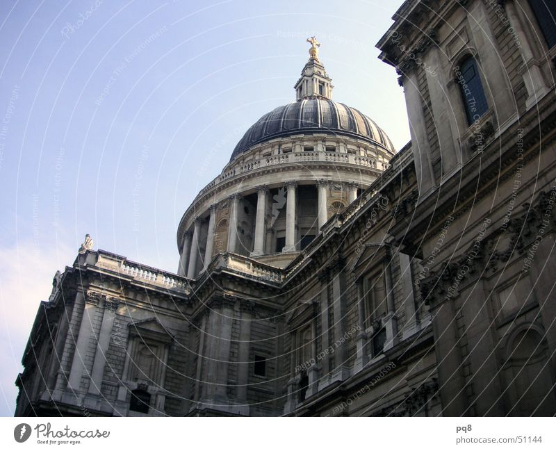 St. Pauls Cathetral Kuppeldach London St. Pauls Cathedrale Religion & Glaube cathetral Architektur