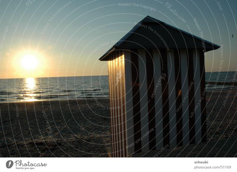 Lass uns baden Wasser Sonne Strand Ferien & Urlaub & Reisen Dänemark Strandhaus