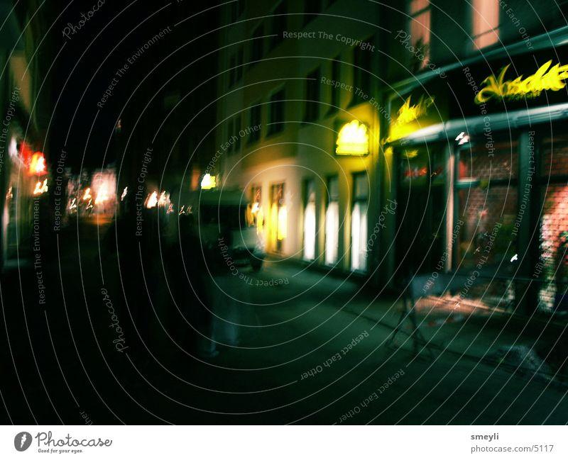 nightwalk Stadt Haus Club Werbung