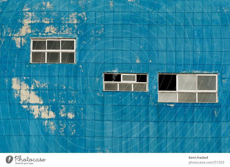 windows in the sky Himmel Israel Tel Aviv blue architecture