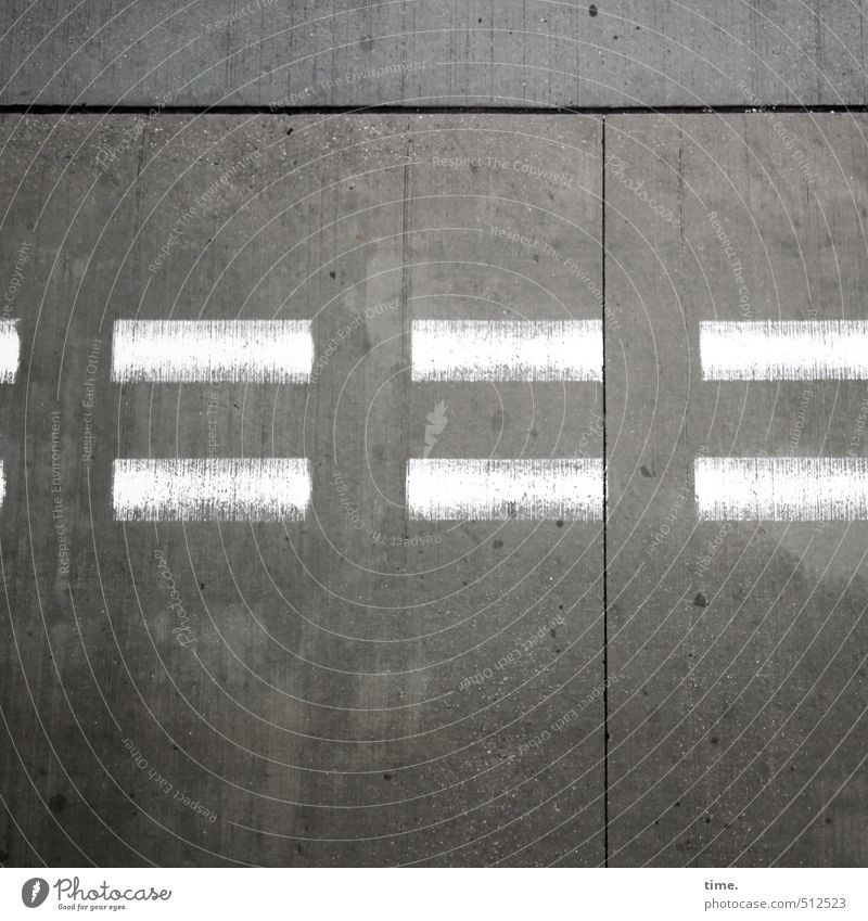 Stotterbremse Kunst Gemälde Personenverkehr Wege & Pfade Verkehrszeichen Verkehrsschild Beton Betonplatte Betonboden Farbstoff Luftverkehr Flughafen Flugplatz