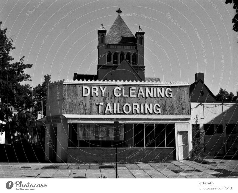 Dry Cleaning/Tailoring in Washington DC Dinge Ladengeschäft Religion & Glaube Stadt Architektur