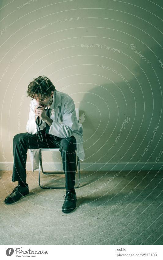 Entscheidung Gesundheit Gesundheitswesen Behandlung Medikament Berufsausbildung Studium Arbeit & Erwerbstätigkeit Arzt Krankenhaus Mensch maskulin Junger Mann