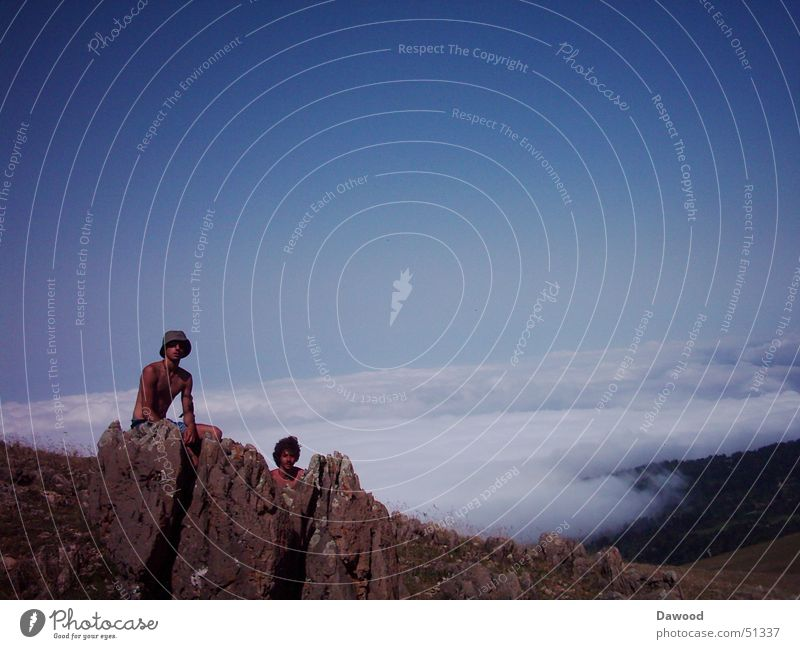 Über den Wolken im Iran Wolken Berge u. Gebirge Iran