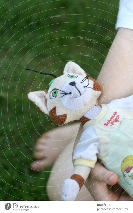 Schmusepüppi Kind Spielen Spielzeug Puppe Kater Findus