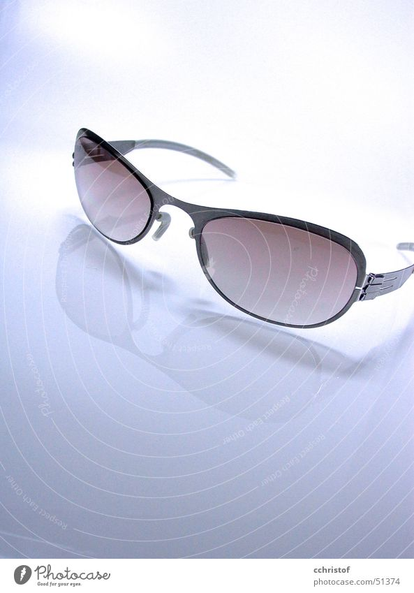 Sonnenbrille Metall Glas Schutz Brille