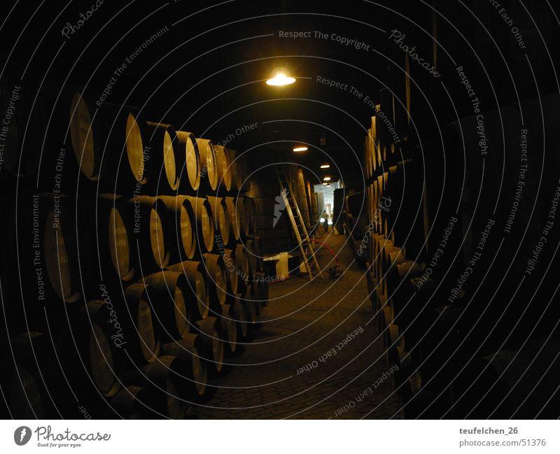 Portweinfässer Wein Fass Portwein Weinkeller Porto