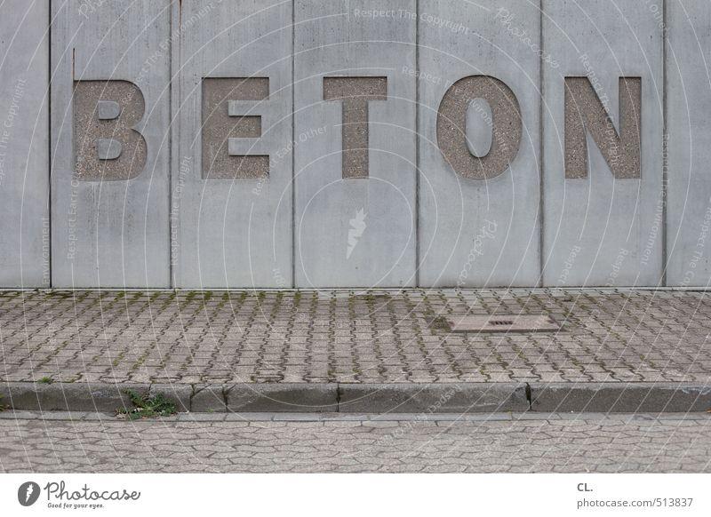 beton Wirtschaft Handwerk Baustelle Mittelstand Unternehmen Industrieanlage Mauer Wand Straße Wege & Pfade trist grau Beton Betonwand Betonmauer Betonbauweise