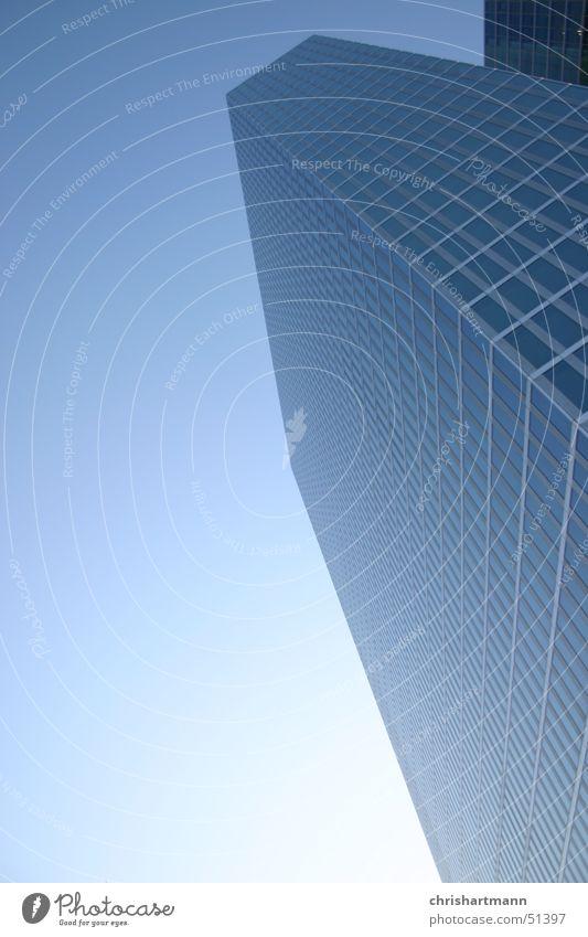 Skyscraper Munich Himmel blau kalt Glas Hochhaus Skyline