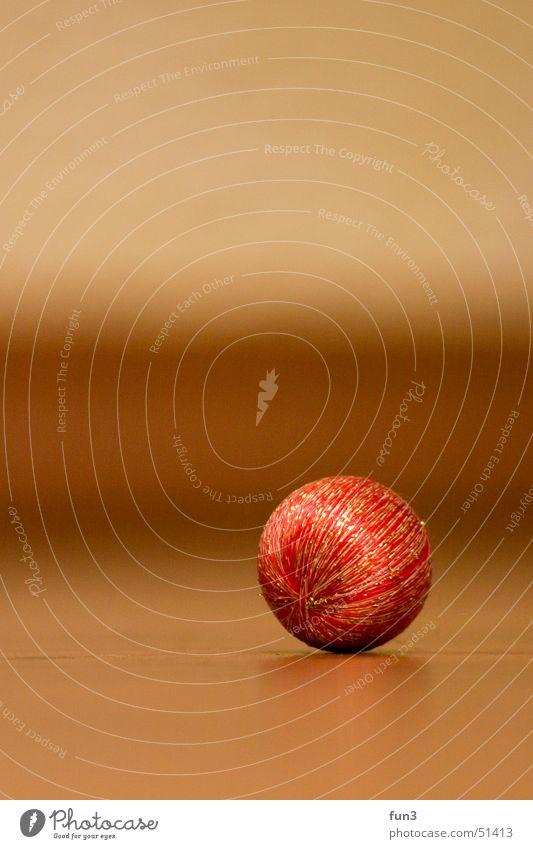 Weihnachtskugel rot Wärme Physik Kugel