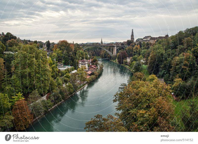 Bern Natur Stadt Landschaft Wald Umwelt Herbst natürlich Fluss Skyline nachhaltig Hauptstadt Politik & Staat