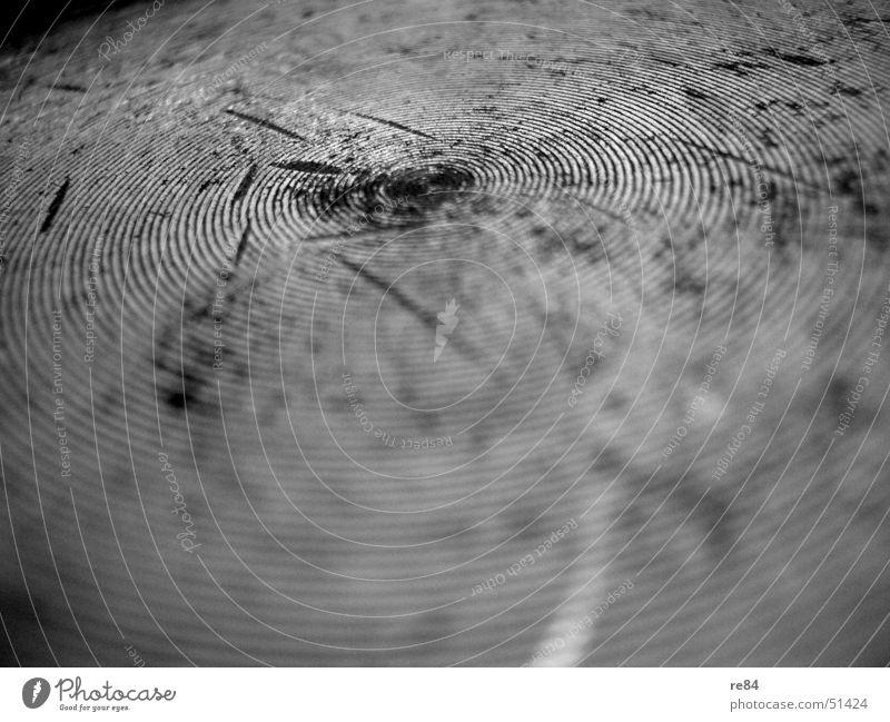 Fingerprint - Der Topf als Vorbild alt Kreis Kochen & Garen & Backen Küche rund Spuren Reinigen Zeichen Rost Fleck Riss Spirale