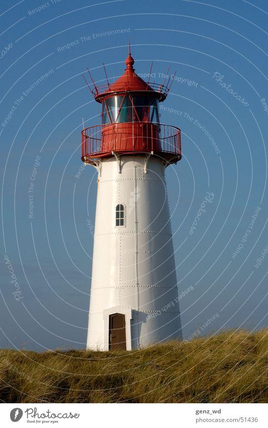 Deutschlands nördlichster Leuchtturm Sylt Gelenk listig Schleswig-Holstein Leuchtfeuer