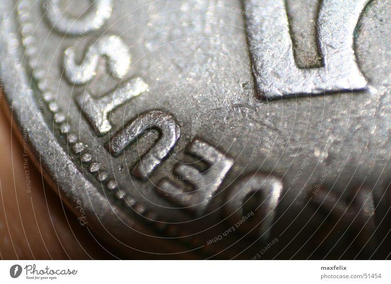 Alter Taler Deutschland Geld Geldmünzen Pfennige