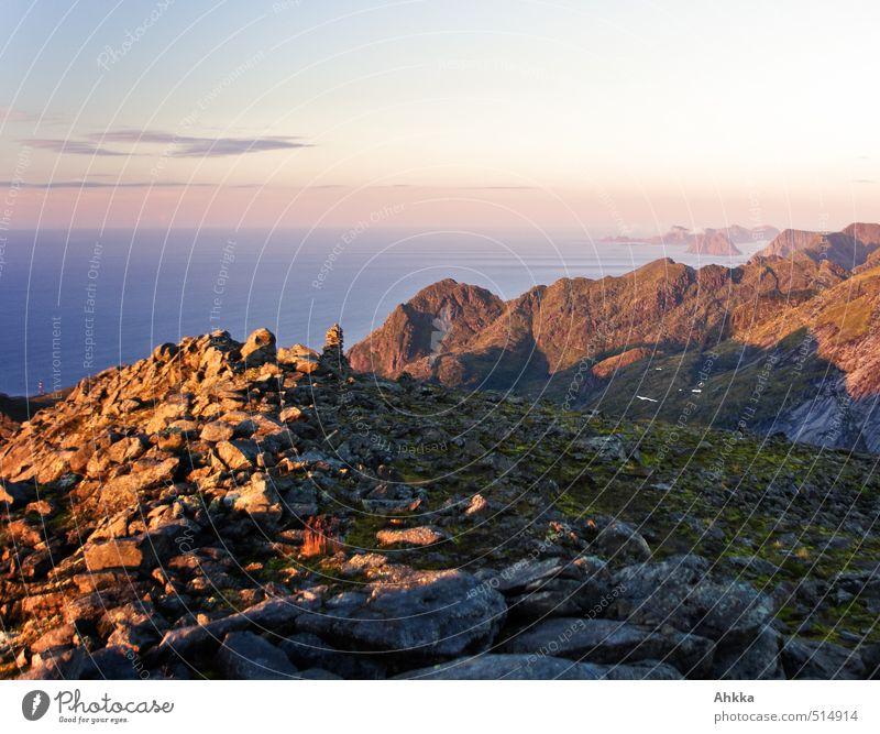 warme Kälte Natur Ferien & Urlaub & Reisen Landschaft Ferne Berge u. Gebirge Leben Küste Gesundheit Freiheit Stimmung rosa Zufriedenheit Tourismus wandern authentisch Ausflug