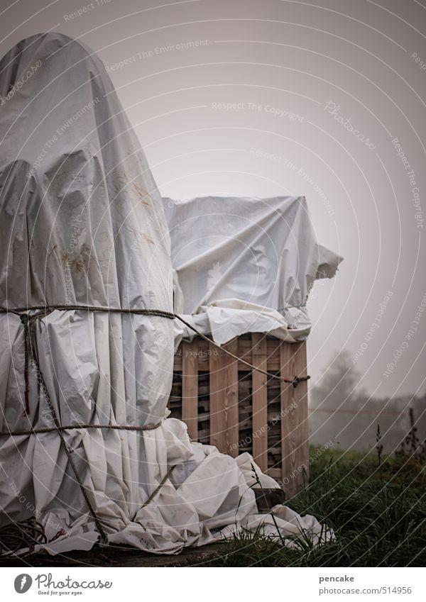 planetar Kunst Natur Feld verkaufen einpacken Folie Tuch Seil Schnur Paletten Landwirtschaft Abdeckung Gedeckte Farben Außenaufnahme Tag