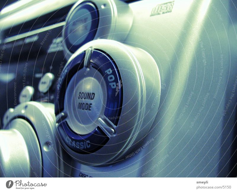 pop classics Knöpfe HiFi Elektrisches Gerät Technik & Technologie Musik Klang Makroaufnahme silber technic