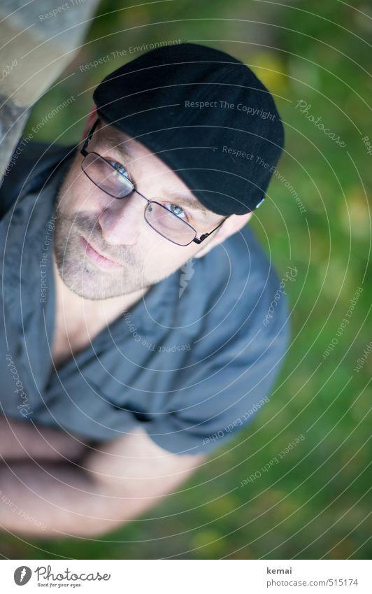 Bärensee 2013   Jo Mensch Mann ruhig Gesicht Erwachsene Auge Leben Stil Kopf maskulin Lifestyle Mund Nase Brille Gelassenheit Mütze
