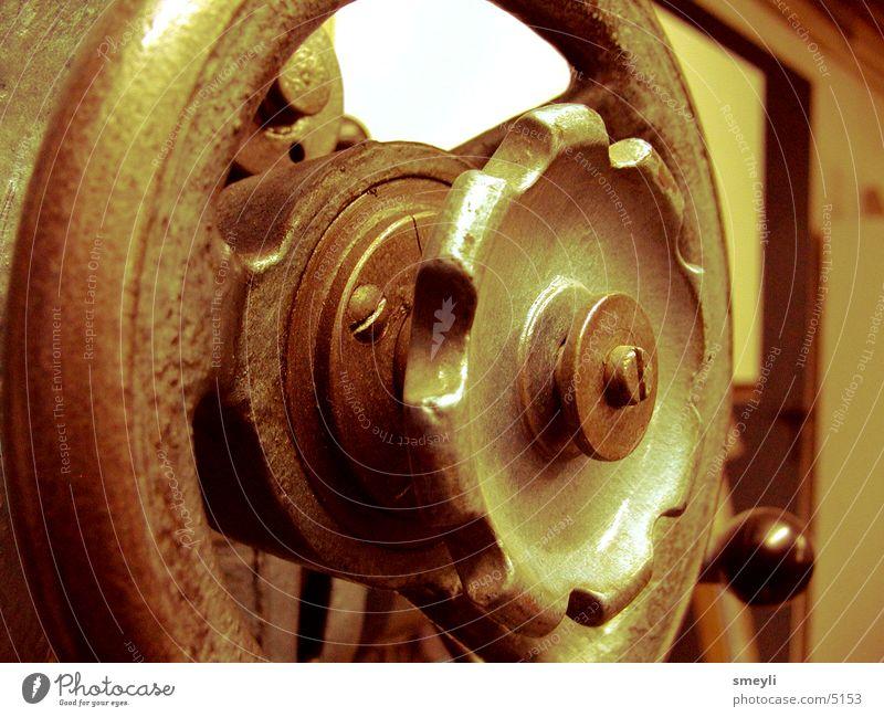 rad:dran alt Metall Industrie Stahl Rost Eisen Stahlverarbeitung