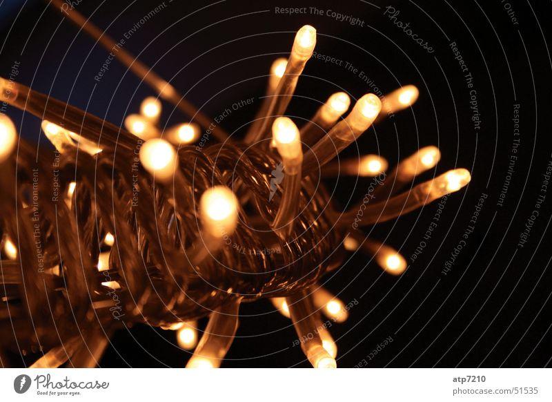 Leuchtender Traum Weihnachten & Advent Lampe hell Glühbirne Lichterkette Leuchtkranz kleine Lichter