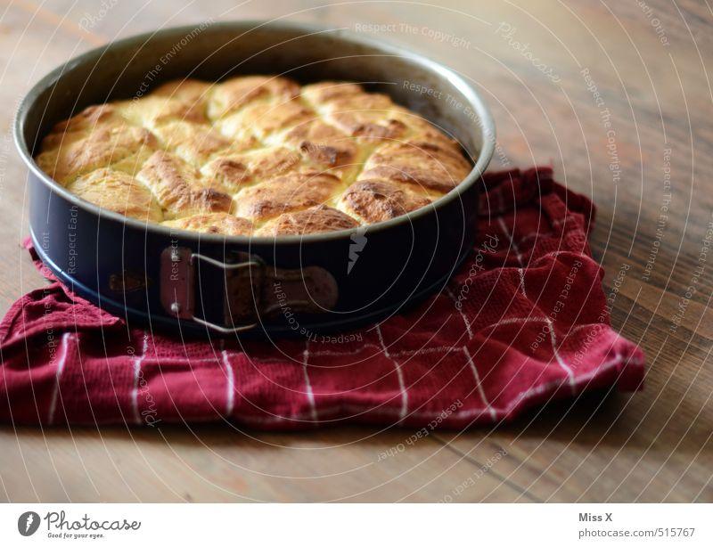 Buchteln Lebensmittel Teigwaren Backwaren Brot Kuchen Dessert Ernährung Mittagessen Kaffeetrinken heiß lecker süß Backform Rohrnudeln Ofennudeln Nudeln