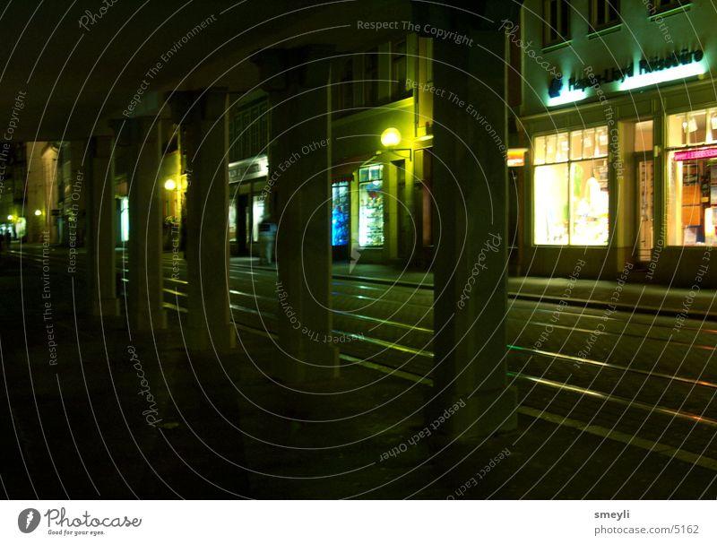 einsamkeit Nacht Beton Einsamkeit Licht Stadt Club Straße leer