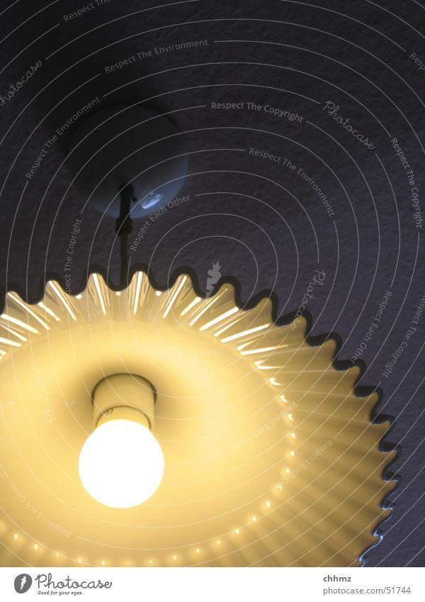 Es werde Licht Lampe Elektrizität Küche Regenschirm elektronisch Fünfziger Jahre Halterung Deckenlampe