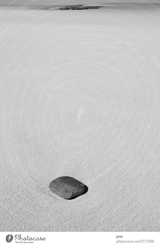 stein Natur Sommer nackt Erholung Einsamkeit Landschaft ruhig Strand Umwelt Küste Freiheit Stein Sand liegen frei einzeln