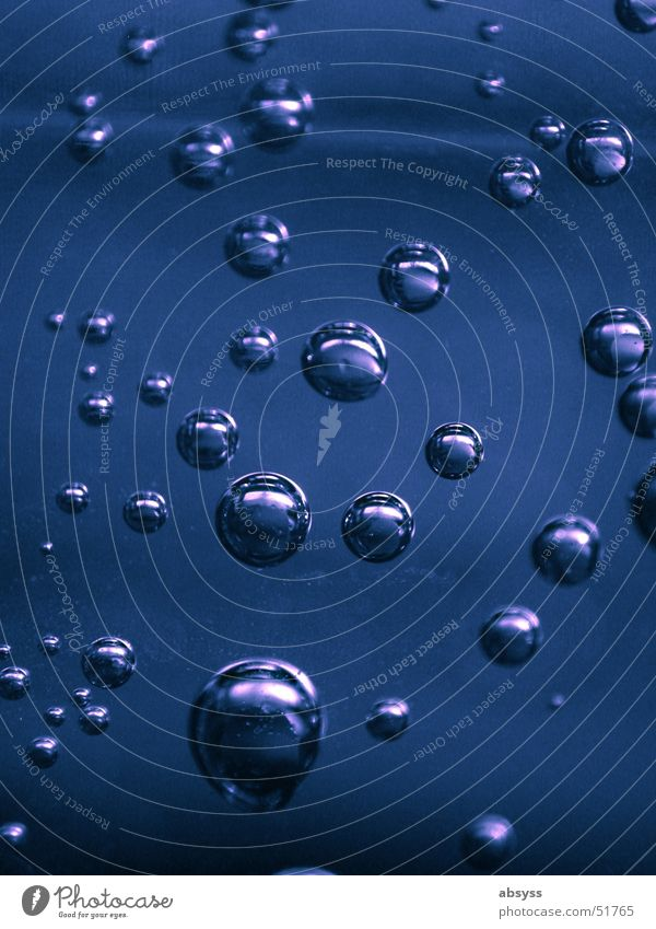 oxygen Natur Wasser blau Luft Flüssigkeit Blase blasen Sauerstoff Mineralwasser Kohlensäure