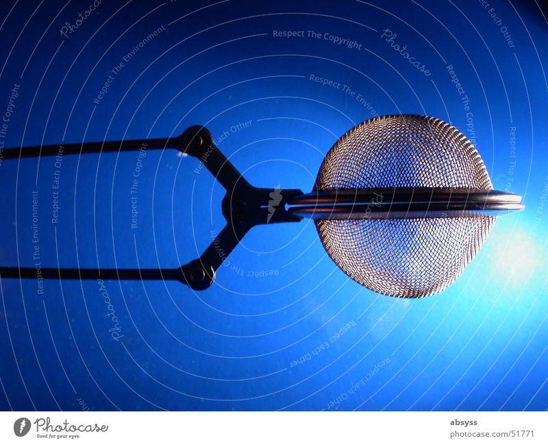 Raumschiff Enterprise blau Leben Metall leuchten modern Dinge Küche Tee Reihe Reaktionen u. Effekte UFO Sieb Traumschiff Teesieb