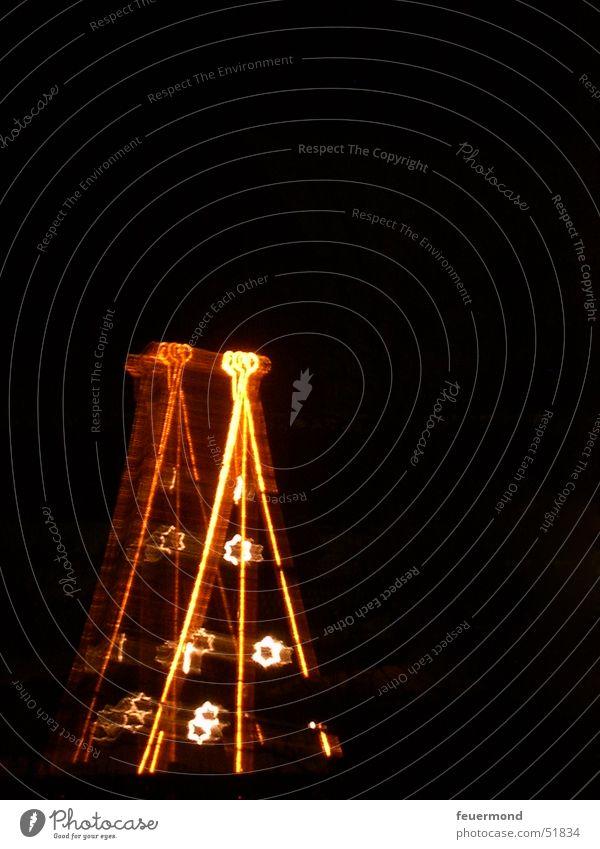 Lichtpyramide Lichterkette Weihnachtsbaum Lichtschlauch Weihnachten & Advent Stern (Symbol) Pyramide