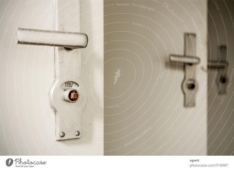 ut ruhrgebiet | Geschäfte II Tür Häusliches Leben trist Perspektive Sauberkeit Kultur Körperpflege Toilette trashig direkt Griff gleich Reinlichkeit gebrauchen