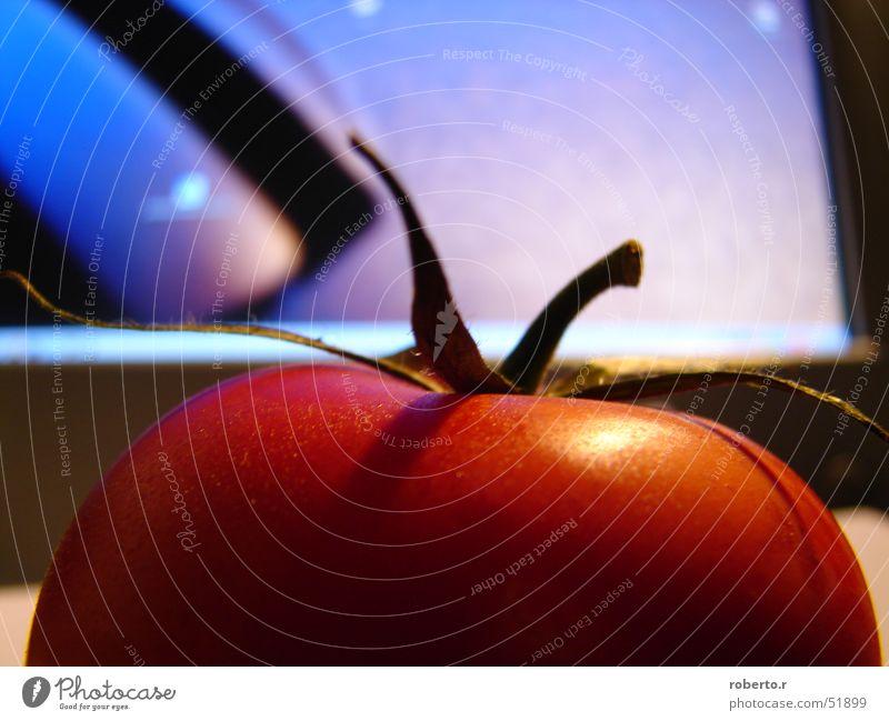 tomate Bildschirm Kunst Tomate