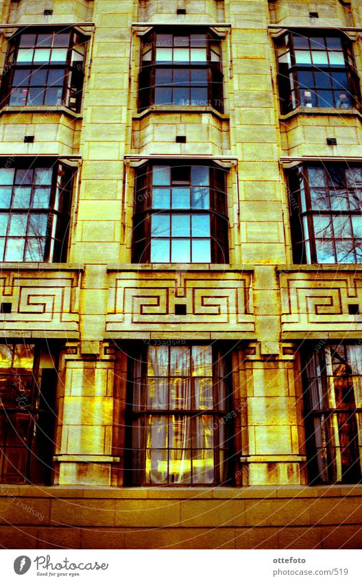 Amsterdam Office 2 Fenster Architektur Fassade Bürogebäude