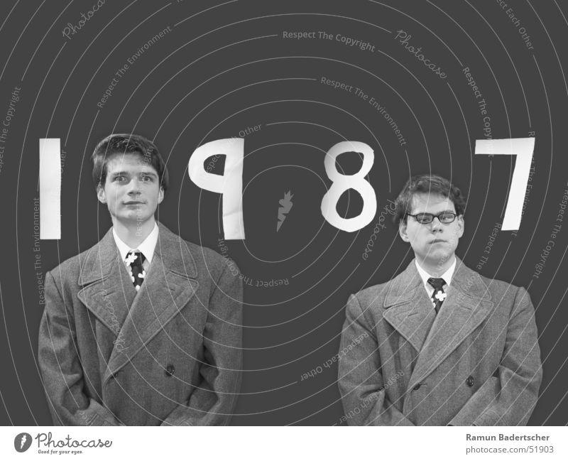 Gilbert&Georges Porträt Jahr Mensch gilbert georges 1987