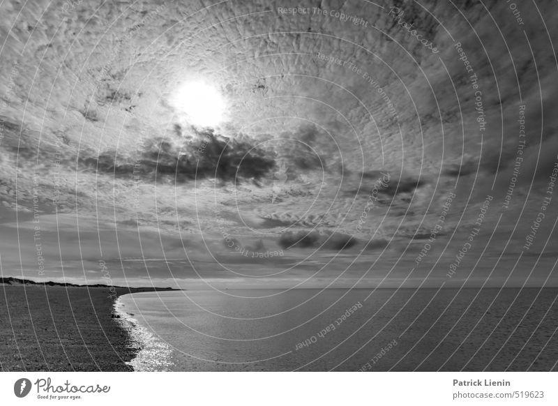 Cape Cod Umwelt Natur Landschaft Urelemente Luft Wasser Himmel Wolken Gewitterwolken Sonne Sonnenaufgang Sonnenuntergang Sonnenlicht Sommer Wetter