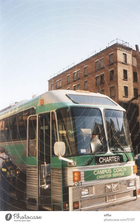 bus New York City Bus Ferien & Urlaub & Reisen Straße