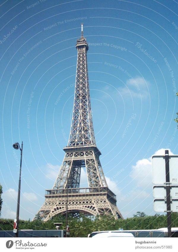 Le tour eiffel Ferien & Urlaub & Reisen Kunst Turm Paris Frankreich Sightseeing Sehenswürdigkeit