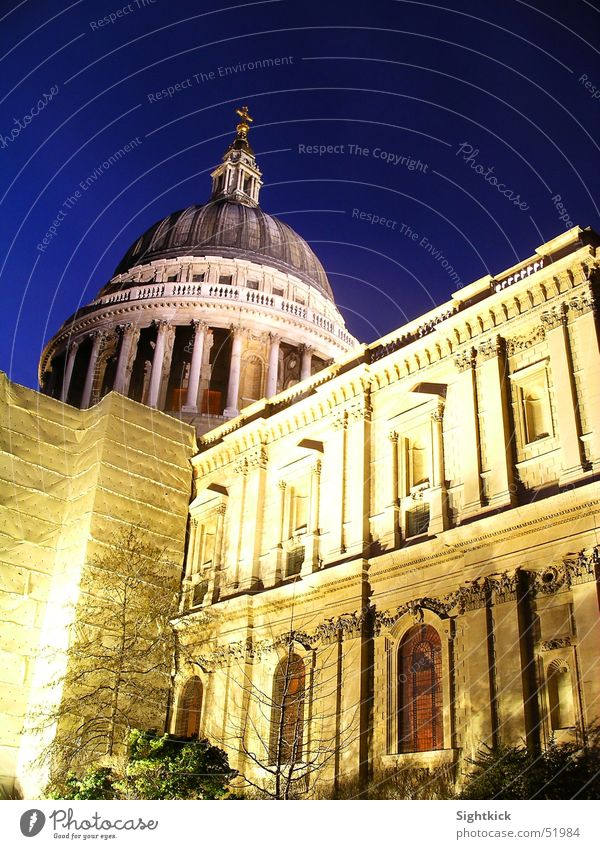 St. Pauls Fenster Religion & Glaube Dach London Säule England Kathedrale Kuppeldach St. Pauls Cathedrale