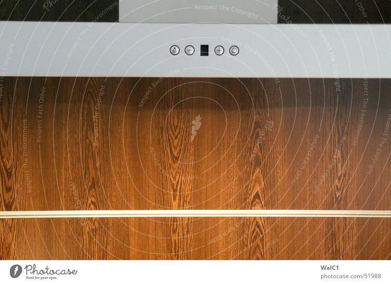Im Dunstkreis Holz Metall Küche Gleise Aluminium Maserung Plus Dunstabzug Wenge