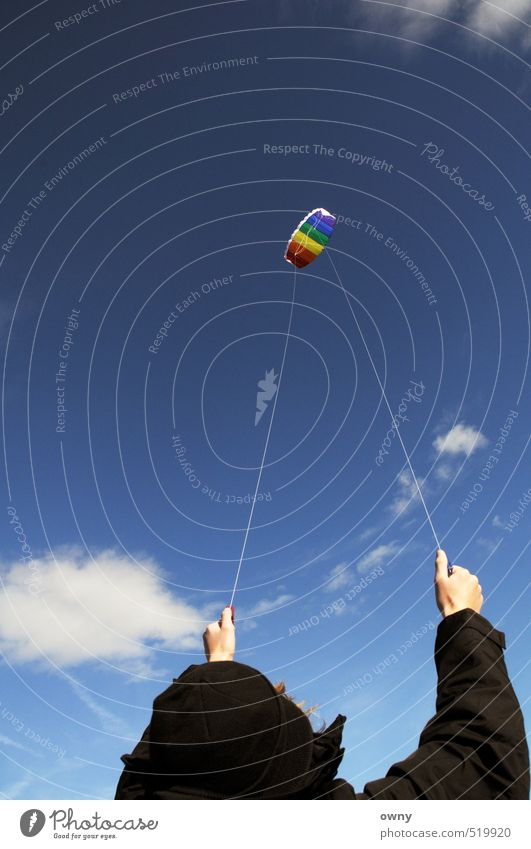Dragon Lifestyle sportlich Leben Freizeit & Hobby Spielen Modellbau Drachenfliegen Lenkdrachen Ferien & Urlaub & Reisen Freiheit Kind Junger Mann Jugendliche