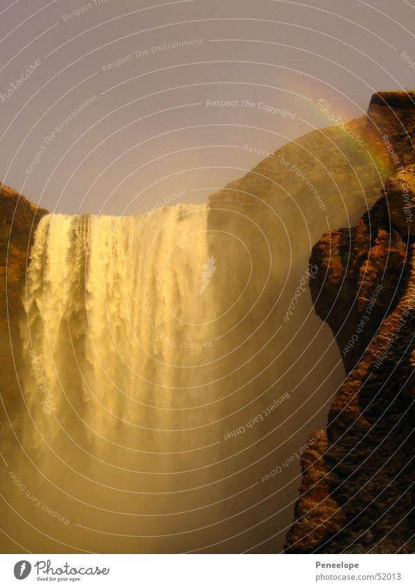 Wasserfall Wasserfall Regenbogen