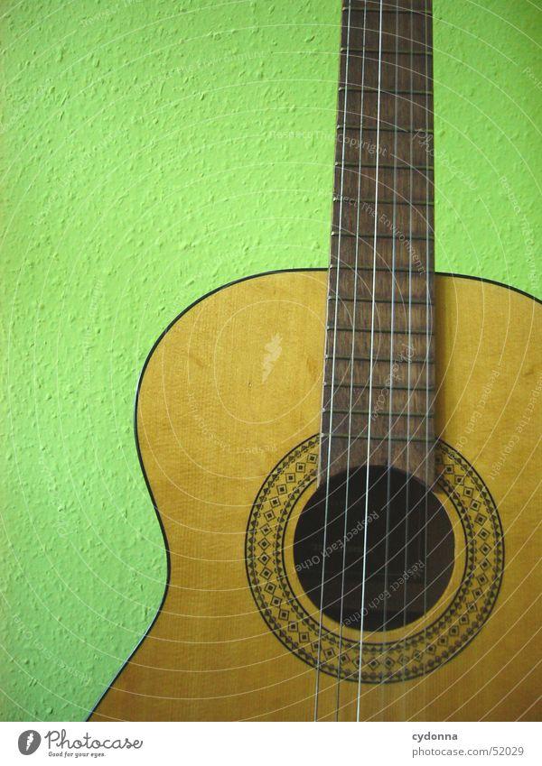 my guitar grün Freude Holz Musik Freizeit & Hobby Dinge Konzert Gitarre Stillleben Ton Musikinstrument Klang Saite