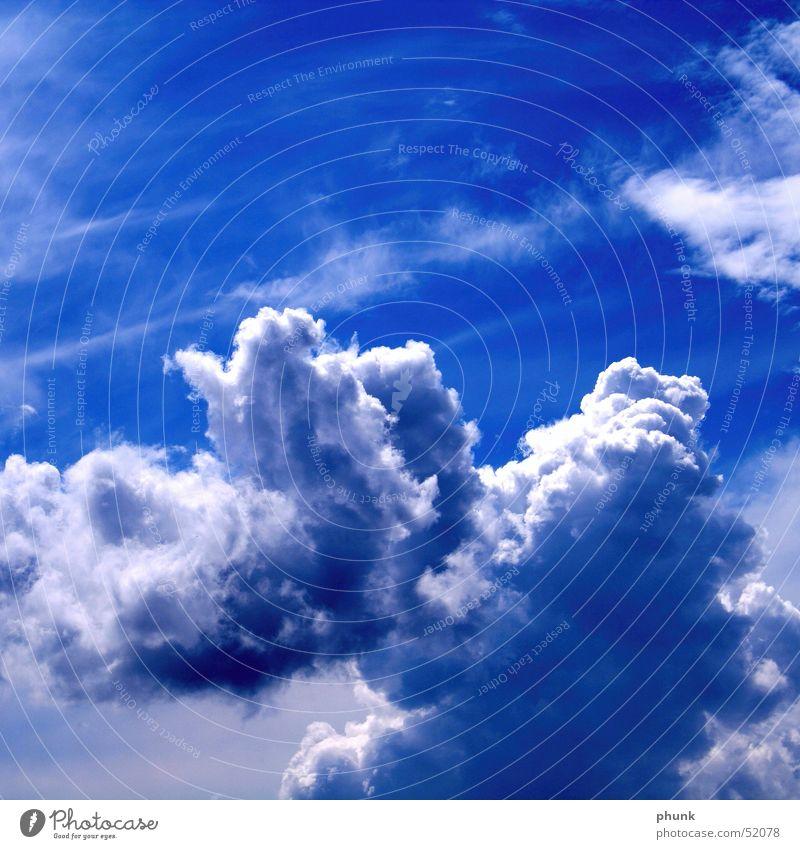 himmel collage Himmel blau Wolken Regen weich Klarheit Sturm Collage