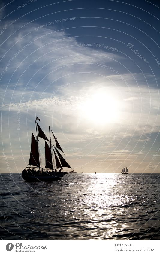 Sunrise Adventure. XXXXXVIII Segeln Ferien & Urlaub & Reisen Tourismus Ausflug Abenteuer Ferne Kreuzfahrt Sommer Sommerurlaub Umwelt Natur Wasser Wellen Küste