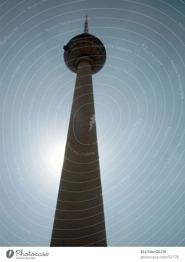 Berliner Fernsehturm Berlin Turm Berliner Fernsehturm