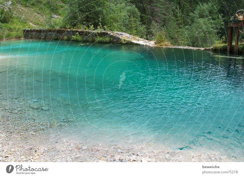 cool blue Wasser Ferien & Urlaub & Reisen kalt Erholung Dinge Wildbach