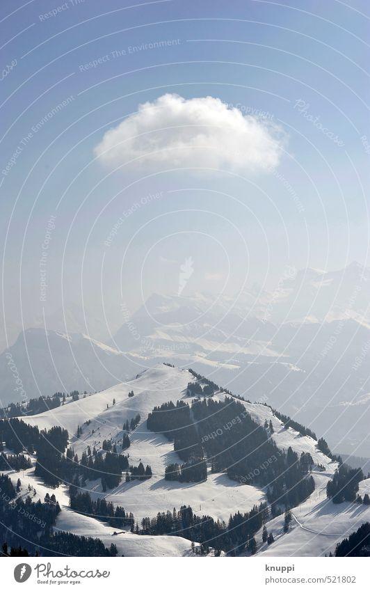 Klischee Himmel Natur blau weiß Wasser Sonne Baum Einsamkeit Landschaft Wolken Winter schwarz Wald Berge u. Gebirge Umwelt Schnee