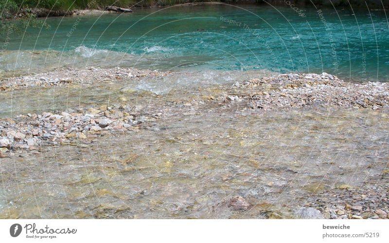 Wasser kalt Erholung Bach