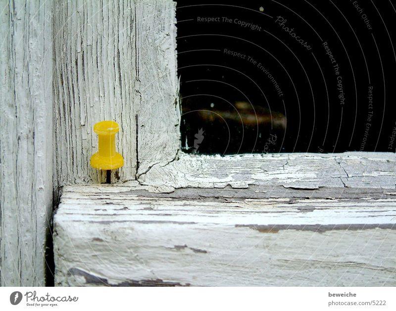 eckpunkt Stecknadel Fensterrahmen Dinge